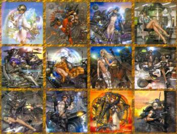 Masamune Shirow 2003 Calendar Dark Horse edition