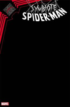 SYMBIOTE SPIDER-MAN KING IN BLACK #1 BLACK BLANK VAR