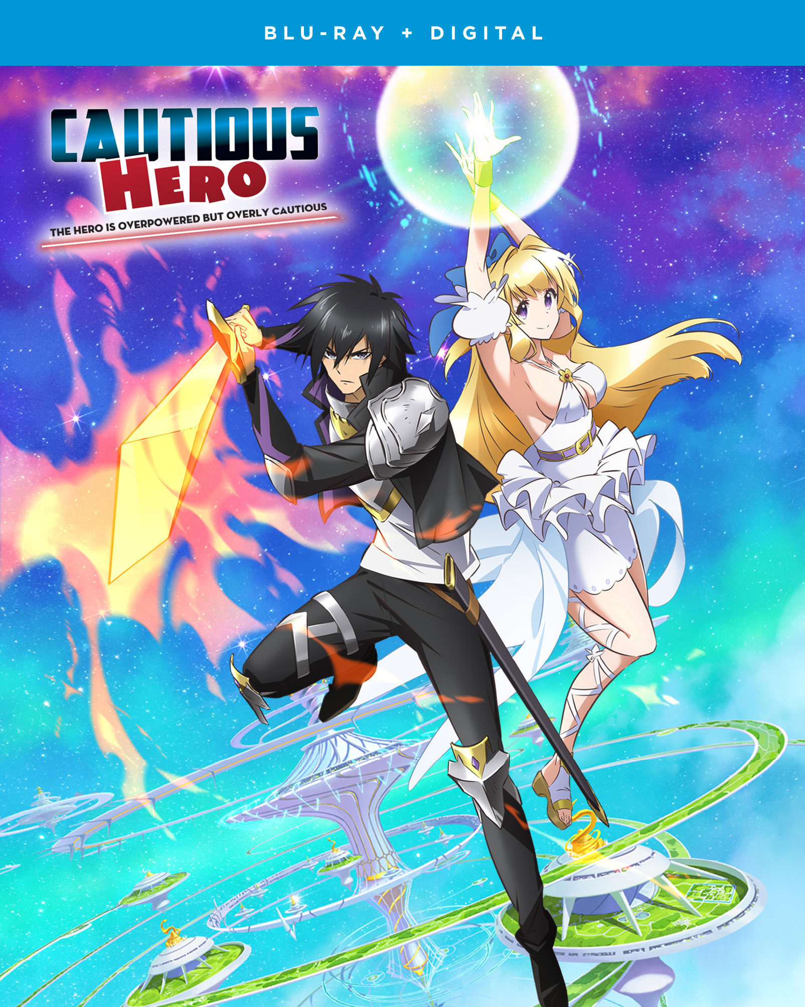 Buy Bluray Cautious Hero The Hero Is Overpowered But Overly Cautious Blu Ray Archonia Com