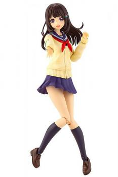 Sousai Shojo Teien Plastic Model Kit - Madoka Yuki Touou High School Winter Clothes 1/10