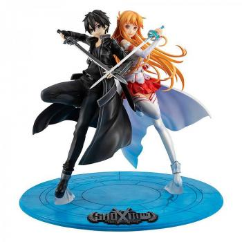 Sword Art Online PVC Figure - Lucrea Kirito & Asuna 10th Anniversary