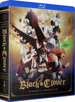 Black Clover Season 02 Complete Collection Blu-Ray