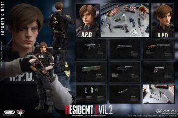 Resident Evil 2 Action Figure - Leon S. Kennedy 1/6