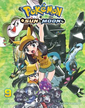 Pokemon Sun & Moon vol 09 GN Manga