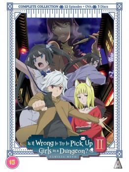 Is It Wrong To Try To Pick Up Girls In A Dungeon? Complete Season 02 DVD UK
