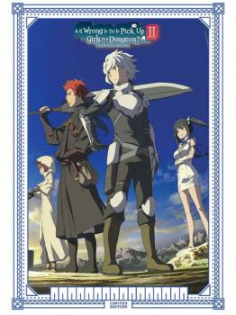 Is It Wrong To Try To Pick Up Girls In A Dungeon? Complete Season 02 Deluxe Edition Blu-Ray/DVD Combo UK