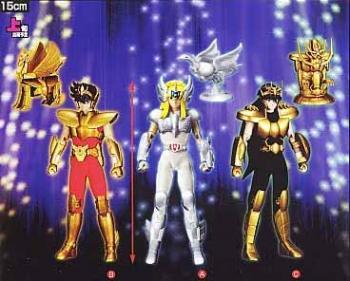 Saint Seiya DX Figure Gold Pegasus