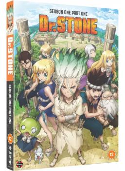 Dr. STONE Season 01 Part 01 DVD UK