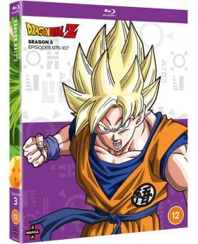 Dragon Ball Z Season 03 Blu-Ray UK