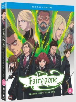 Fairy Gone Season 01 Part 02 Blu-Ray UK