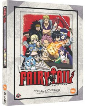 Fairy Tail Collection 08 DVD UK