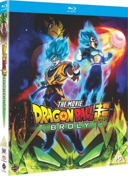 Dragon Ball Super The Movie Broly Blu-Ray UK
