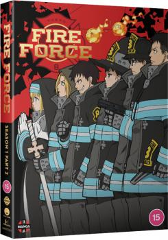 Fire Force Season 01 Part 02 DVD UK