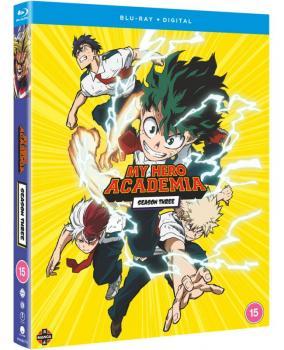My Hero Academia Season 03 Blu-ray UK