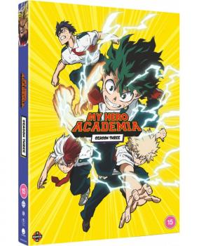 My Hero Academia Season 03 DVD UK