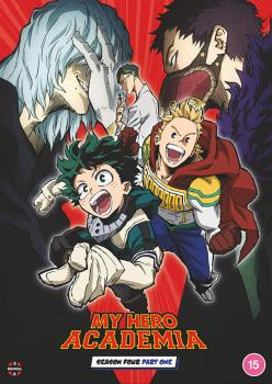 My Hero Academia Season 04 Part 01 DVD UK