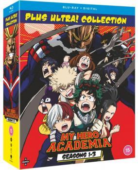 My Hero Academia Season 01-03 Collection Blu-Ray UK
