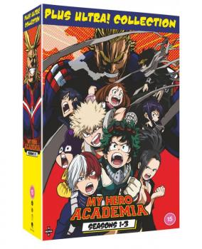 My Hero Academia Season 01-03 Collection DVD UK