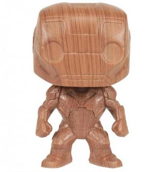 Iron Man Pop Vinyl Figure - Iron Man (Wood) (Special Edition)