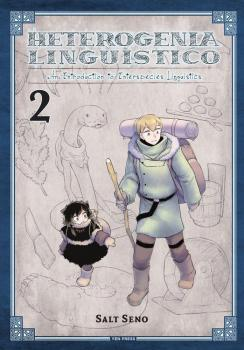 Heterogenia Linguistico vol 02 GN Manga