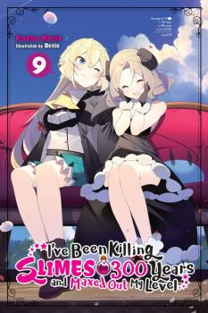 I've Been Killing Slimes for 300 Years vol 09 Light Novel