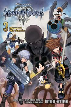 Kingdom Hearts III vol 03 Light Novel
