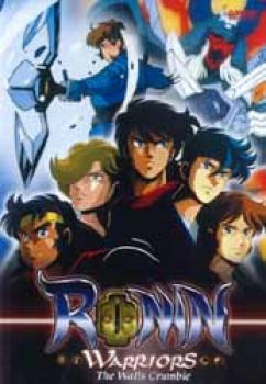 Ronin warrior vol 09 The walls crumble DVD