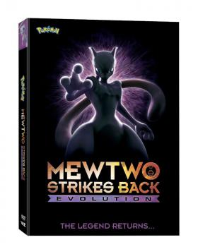 Pokemon The Movie Mewtwo Strikes Back Evolution DVD