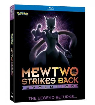 Pokemon The Movie Mewtwo Strikes Back Evolution Blu-Ray
