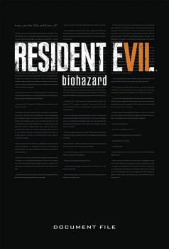 RESIDENT EVIL 7 BIOHAZARD DOCUMENT FILE (HARDCOVER)