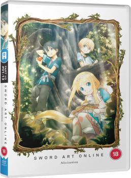 Sword Art Online Alicization Part 01 DVD UK