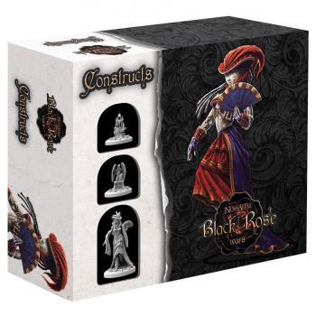 Black Rose Wars Deckbuilding Strategy Game - Miniatures Expansion Constructs