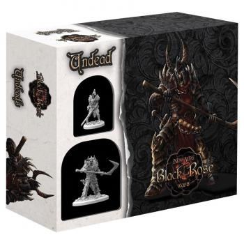 Black Rose Wars Deckbuilding Strategy Game - Miniatures Expansion Undead