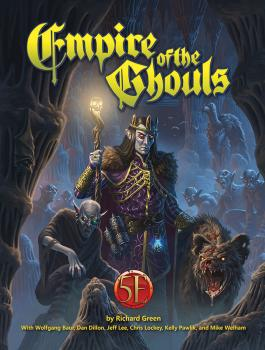 Dungeons and Dragons RPG 5th Edition Empire of the Ghouls Hardcover
