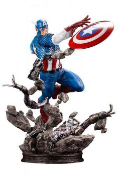 Marvel Comics Fine Art Statue - Captain America 1/6