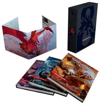 Dungeons and Dragons RPG 5th Edition Core Rulebook Gift Set