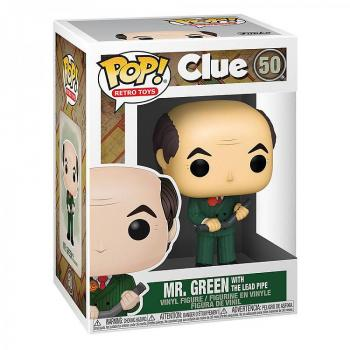 Clue Pop Vinyl Figure - Mr. Green with Lead Pipe