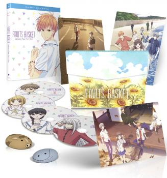 Fruits Basket Season 02 Part 01 Limited Edition Blu-ray/DVD