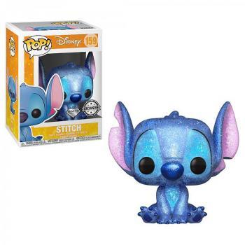 Lilo & Stitch Pop Vinyl Figure - Stitch Seated (Diamond Glitter) Exclusive