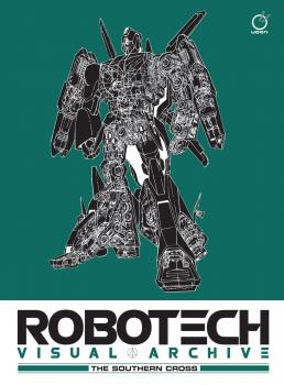 Robotech Visual Archive The Southern Cross HC