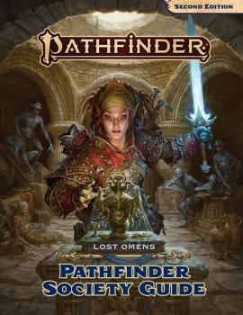 Pathfinder RPG (P2) Lost Omens Pathfinder Society Guide Hardcover