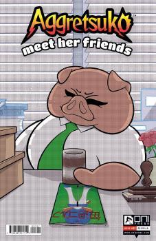 AGGRETSUKO MEET HER FRIENDS #3 CVR B AMIN