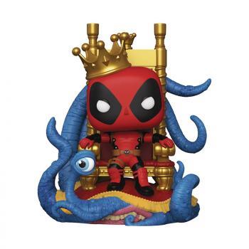 Marvel Comics Deluxe Pop Vinyl Figure - Deadpool on Throne (Previews Exclusive)