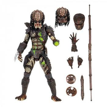 Predator 2 Action Figure - Ultimate Battle-Damaged City Hunter