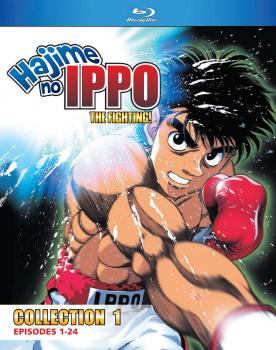Hajime No Ippo The Fighting! TV Series Collection 01 Blu-ray