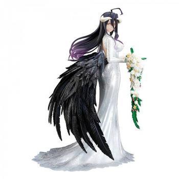 Overlord III PVC Figure - Albedo Wedding Dress Version 1/7