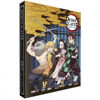 Demon Slayer Kimetsu no Yaiba Part 01 Blu-Ray UK Collector's Edition