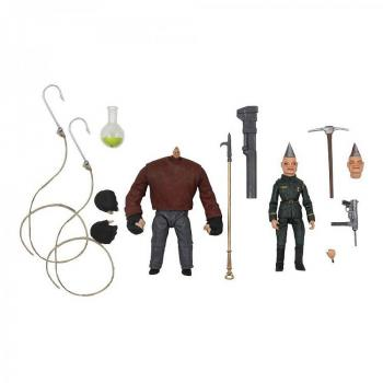 Puppet Master Ultimate Action Figure - 2-Pack Pinhead & Tunneler