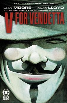 V For Vendetta Black Label Edition (MR) (Trade Paperback)