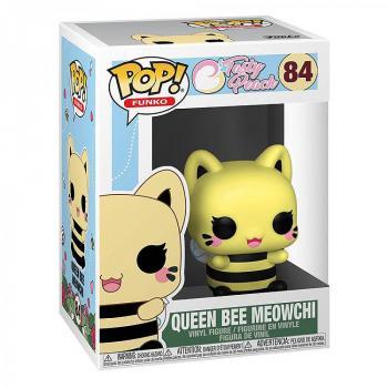 Tasty Peach Pop Vinyl Figure - Queen Bee Meowchi